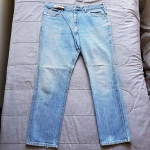 VTG 90S LEE RIDERS MADE IN USA RELAXED JEANS